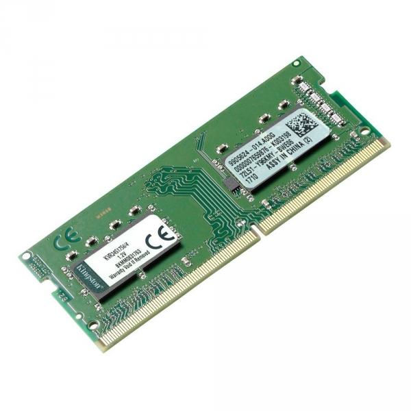 RAM SODIMM DDR4 Kingston 4GB 2400MHz KVR24S17S6/4