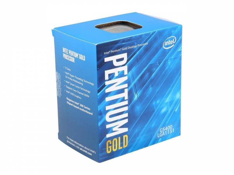 CPU 1151 INTEL Gold G5400 2-Core 3.7GHz Box