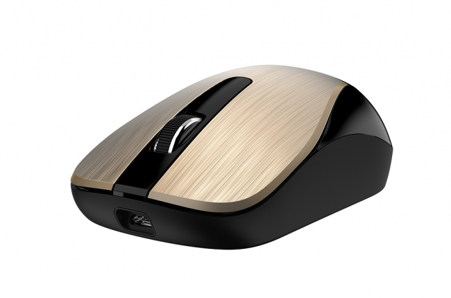Mouse Wireless Genius ECO-8015 Rechargeable Gold