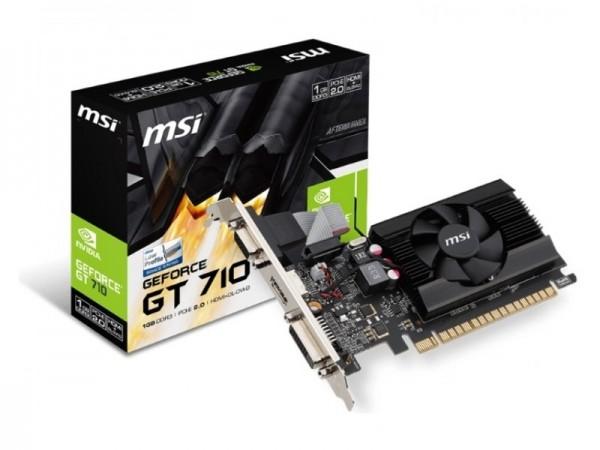 SVGA PCIE MSI GT710 1GD3 LP 64bit