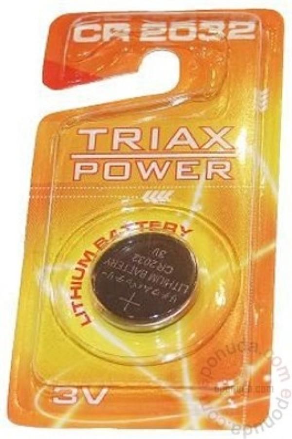 Baterija TRIAX CR2032 Litijum CMOS