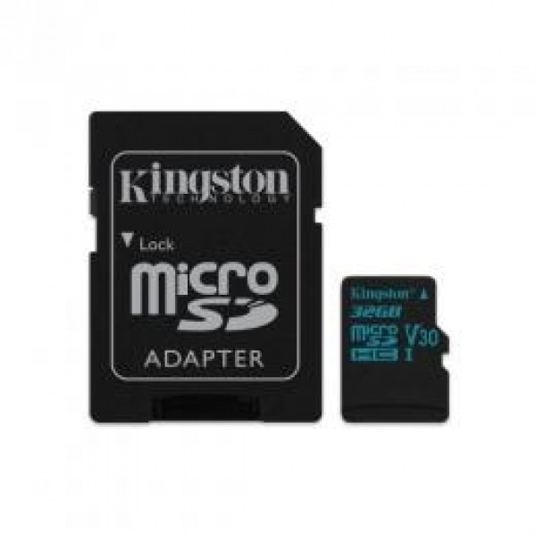 MC MicroSD Kingston 32GB SDCG2/32GB + sd adapter