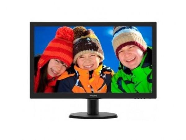 Monitor 23.6'' PHILIPS 243V5LHAB/00 V-line LED