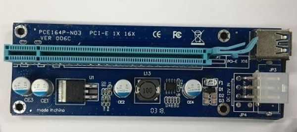 Adapter NoNAME PCE164P-N03 PCIe 1x 16x VER 006C