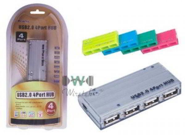 USB Wiretek HUB 4port USB2.0