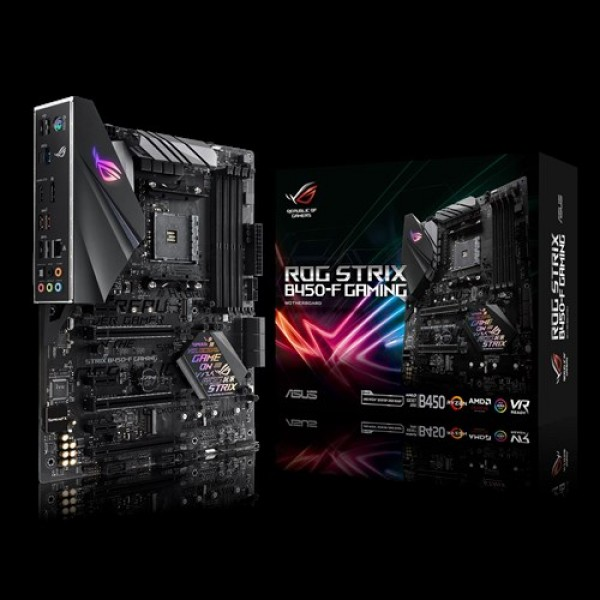 MB AM4 ASUS AMD RoG Strix B450-F Gaming