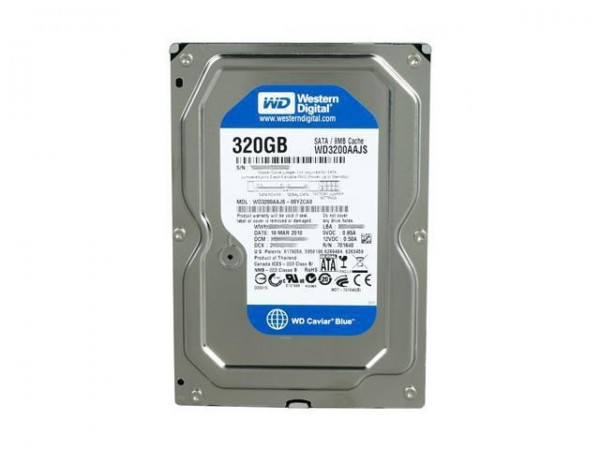 HDD WD 320GB WD3200AAJS SATA2 7200 8MB Cache