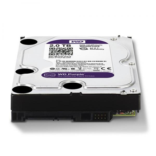 HDD WD 2TB WD20PURX SATA3 64MB Caviar Purple