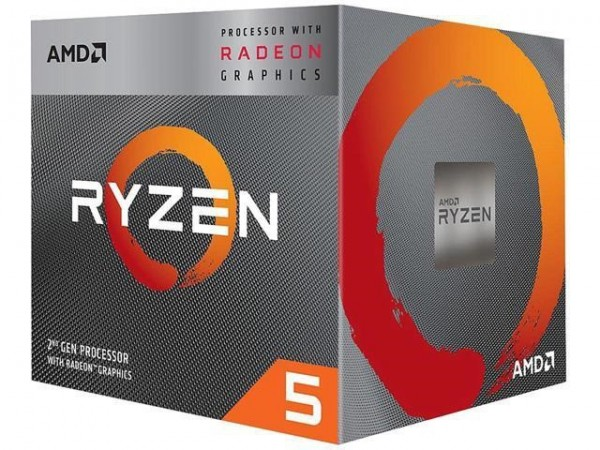 CPU AM4 AMD Ryzen 5 3400G 3.7GHz Box