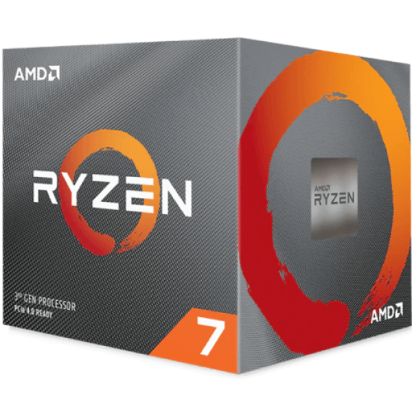 CPU AM4 AMD Ryzen 7 3700X 8 cores 3.6GHz Box