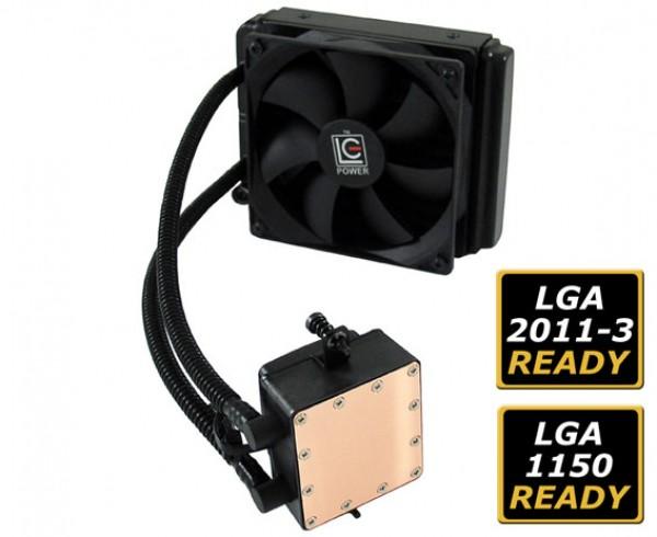 Cooler 1150/1151/2011/FM1/FM2 LC Power CC120-LiCo