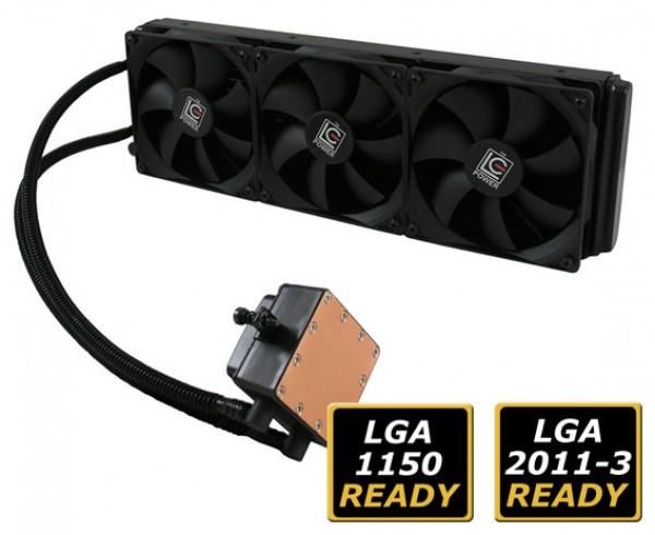 Cooler 1150/1151/2011/FM1/FM2 LC Power CC360-LiCo