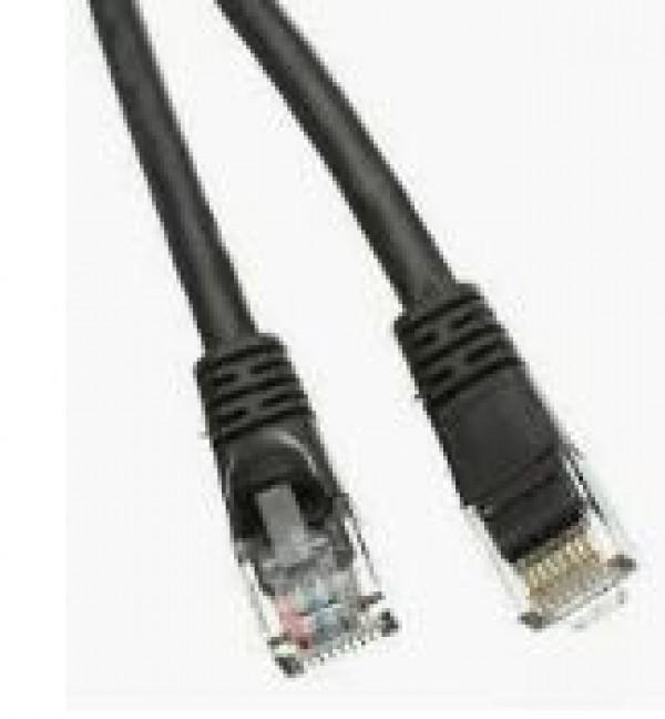 LAN UTP-Kabl E-Green UTP patch Cat5e 1m Black