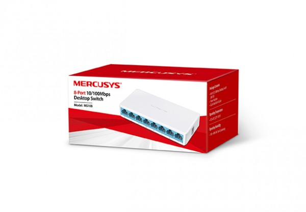 Switch Mercusys MS108 8-port 10/100M