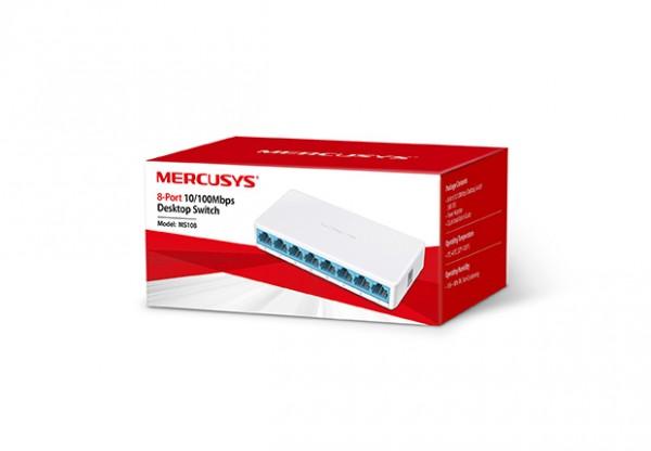 Switch Mercusys MS108 8-port 10/100M