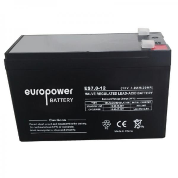 UPS Battery Europower ES12-7 12V 7Ah