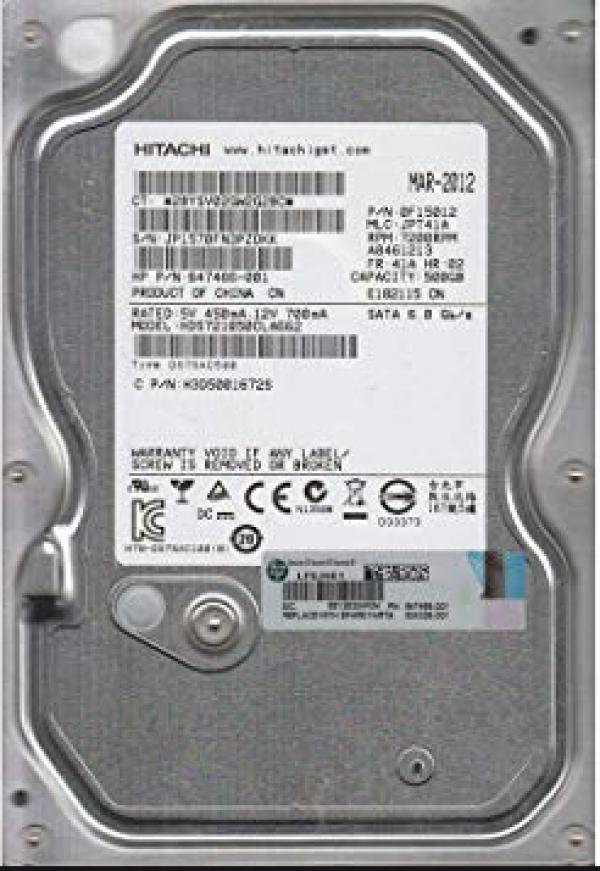 HDD Hitachi 500GB 7200rpm HDS721050CLA662 Ref.bulk