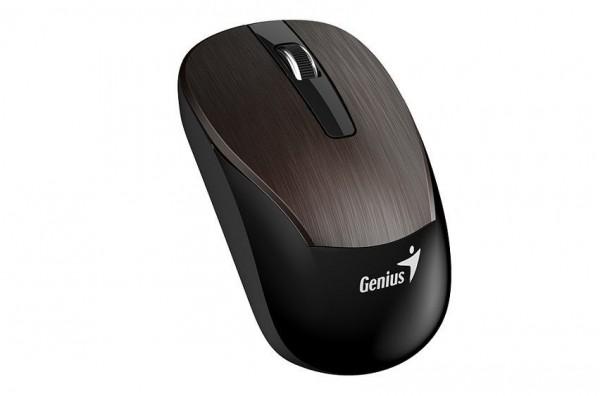 Mouse Genius Wireless ECO-8015 Recharg. Chocolate