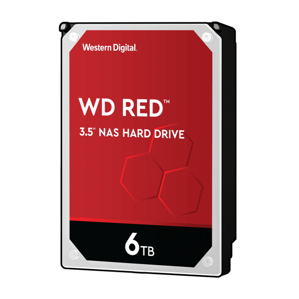 HDD WD 6TB 256MB WD60EFAX Red for NAS