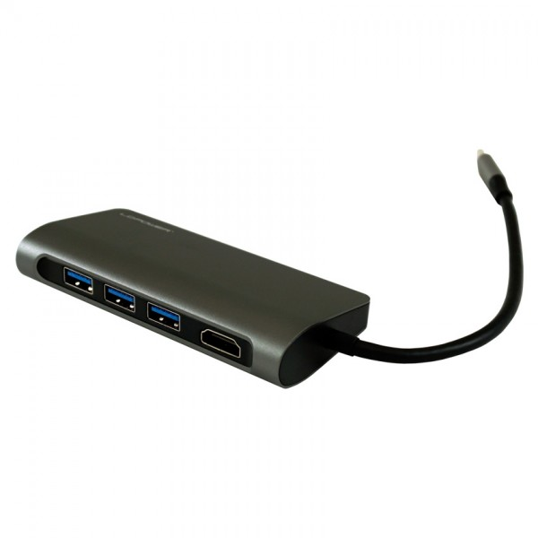 HUB LC Power LC-HUB-C-MULTI-3 Type C, 1xHDMI 3port