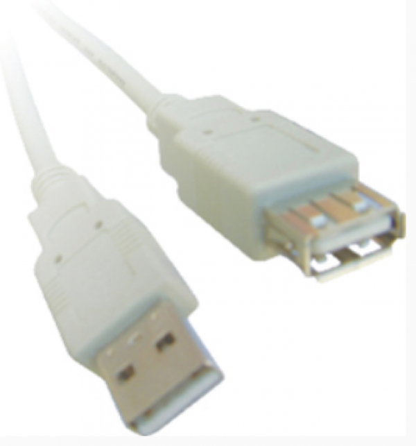 Kabl Wiretek Produzni USB2.0 2m A-M/A-F