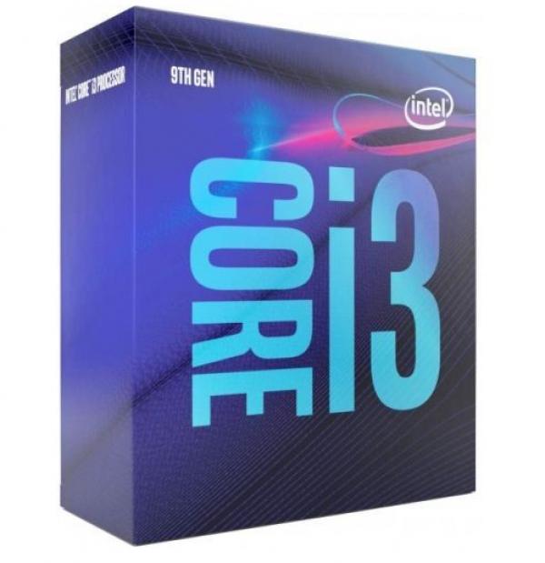 CPU 1151 INTEL Core i3-9100 4-Core 3.6GHz Box