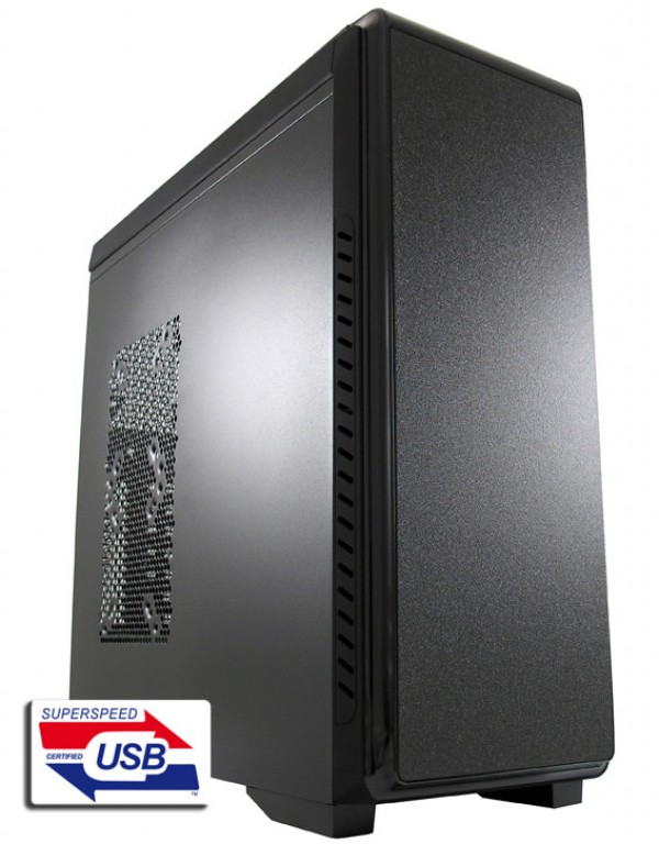 TOWER LC Power LC-904B 600W-12 2xUSB3.0 1xUSB2.0