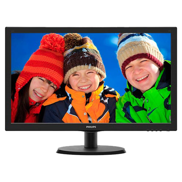 Monitor 23.6'' PHILIPS 243V5LHSB/00 VGA DVI HDMI
