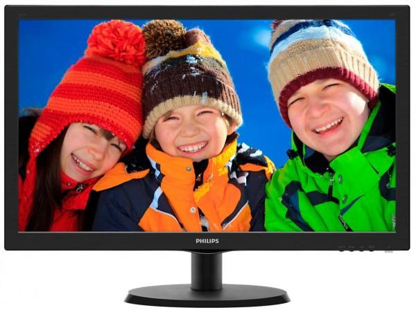 Monitor Philips 21.5'' 223V5LHSB/00 Full HD, VGA, HDMI, Tilt, Vesa