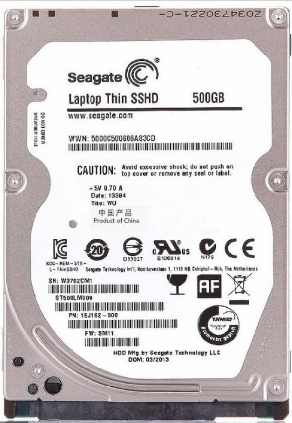 HDD 2.5'' Seagate Barracuda 500GB ST500LM000 refubrished