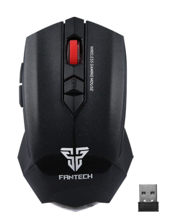 Mouse Wireless Fantech WG7 Garen Black