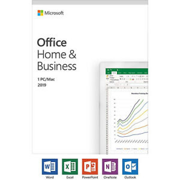 Software Office Home&Business 2019 PC/MAC, FPP eng. T5D-03203