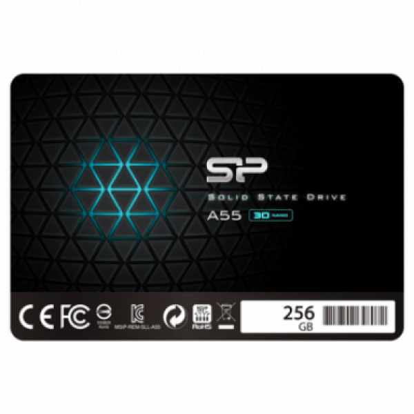 SSD Silicon Power 2.5'' SATA A55 256GB SP256GBSS3A55S25