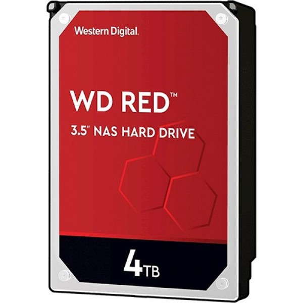 HDD WD 4TB WD40EFAX SATA3 256MB 64MB Red