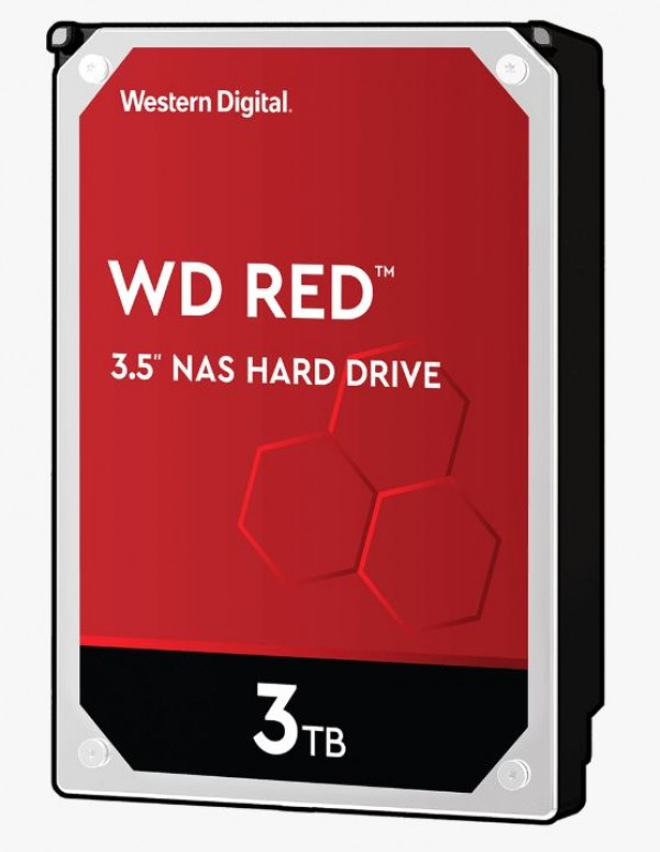 HDD WD 3TB WD30EFAX 5400 64M Red