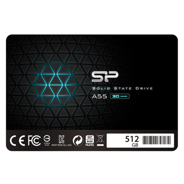 SSD Silicon Power 2.5'' SATA A55 512GB SP512GBSS3A55S25