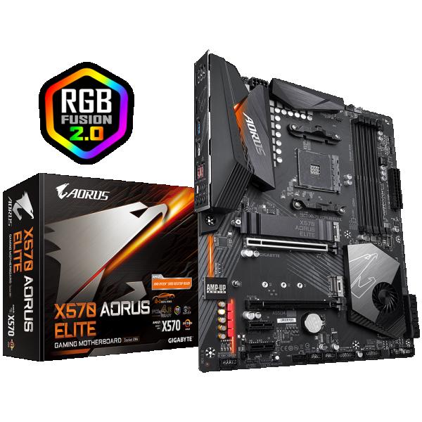 MB AMD AM4 GIGABYTE X570 AORUS ELITE
