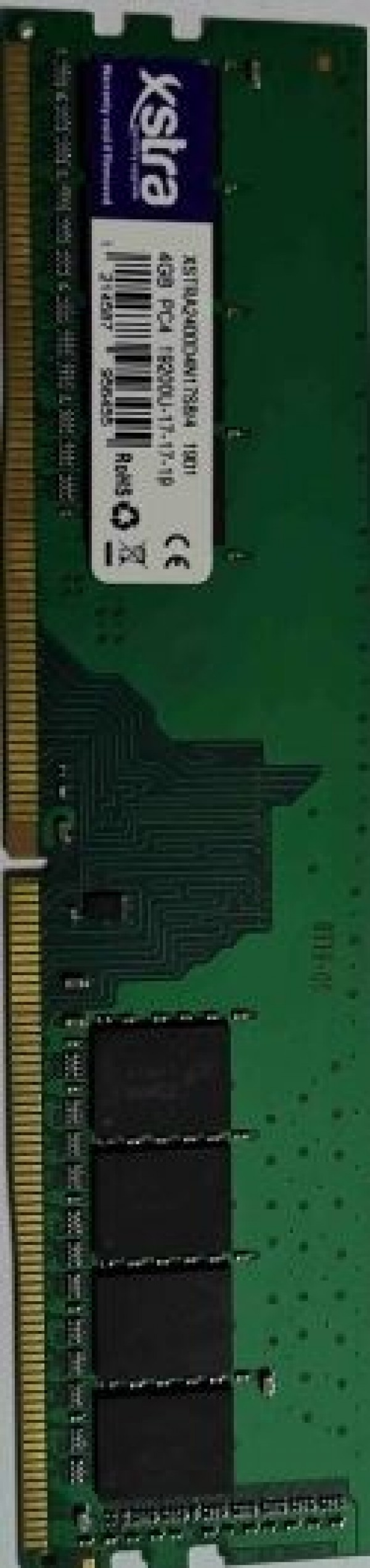 RAM DDR4 XSTRA RAM DDR4 XSTRA 4GB 2400MHz XC4U24N17S-4B Bulk