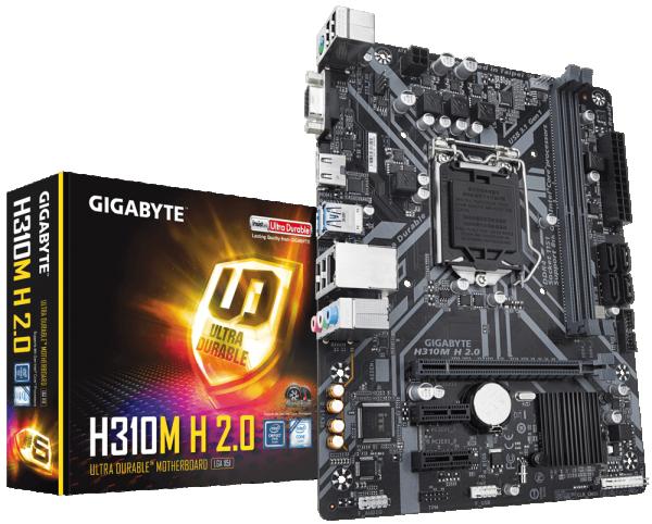 MB s1151 Gigabyte H310M H 2.0 (rev. 1.0)