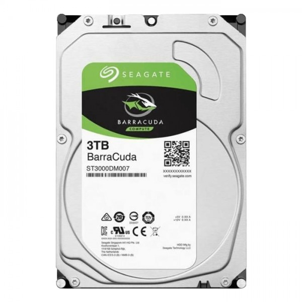 HDD Seagate 3TB  3.5'' SATA3 7200 256MB ST3000DM007