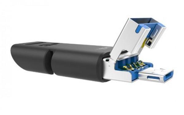 Flash Drive Silicon Power 64GB Mobile C50 USB-C SP064GBUC3C50V1K