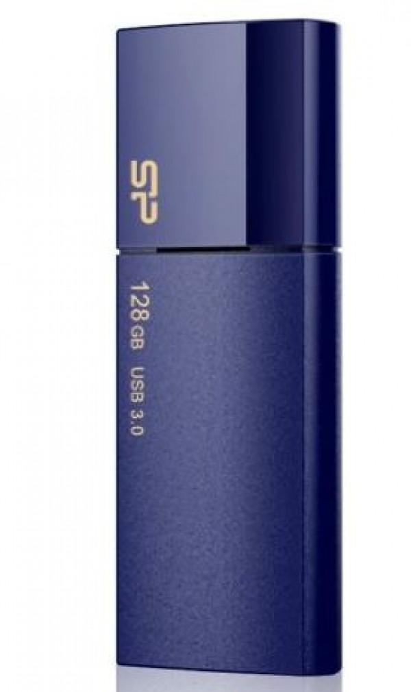 Flash Drive Silicon Power 128GB Blaze B05 USB3.0 SP128GBUF3B05V1D Deep Blue