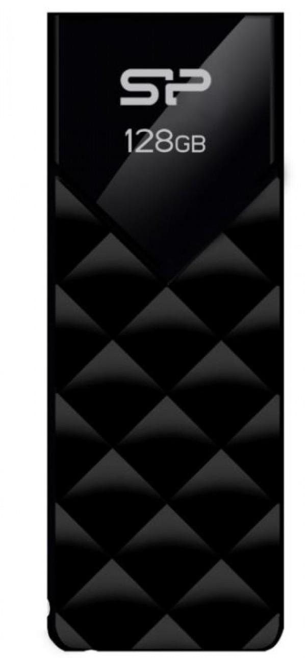 Flash Drive Silicon Power 128GB Blaze B03 USB3.2 SP128GBUF3B03V1K Black