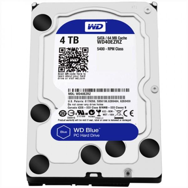 HDD WD 4TB WD40EZRZ SATA3 64MB Blue