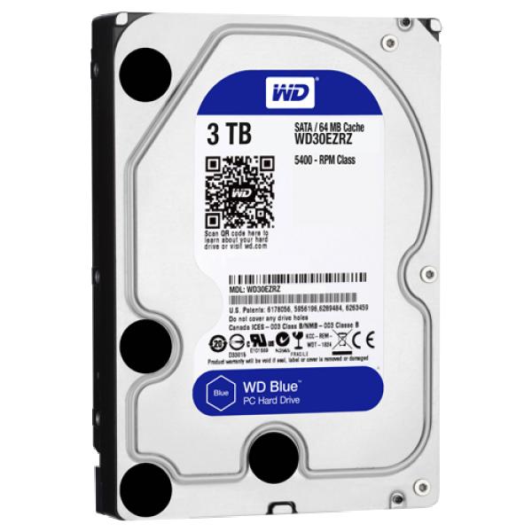 HDD WD 3TB WD30EZRZ SATA3 64MB Blue