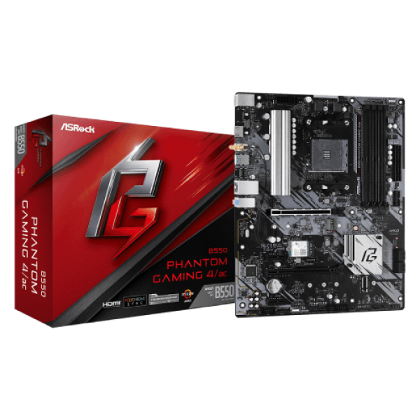 MB ASRock AM4 B550 PHANTOM GAMING 4