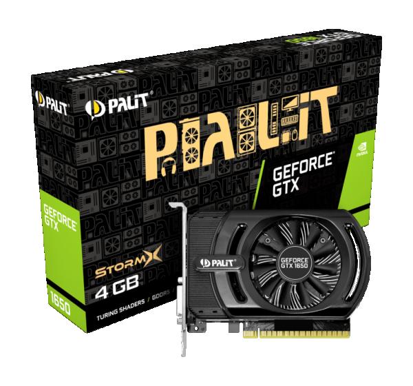 SVGA Palit GTX1650 4GB StormX NE51650006G1-1170F