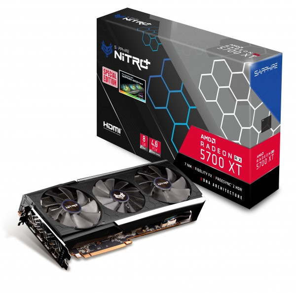 SVGA Sapphire RX5700 XT 8GB Nitro+ OC Sp Ed 11293-05-40G