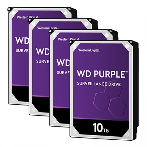 HDD WD 10TB 3.5 256MB PURPLE WD102PURZ
