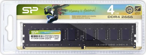RAM DDR4 Silicon Power 4GB 2666MHz SP004GBLFU266N02